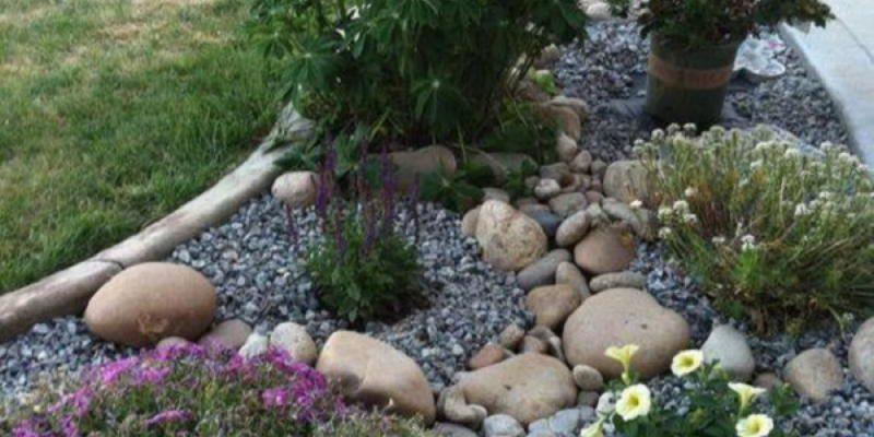 Используем камни на даче правильно