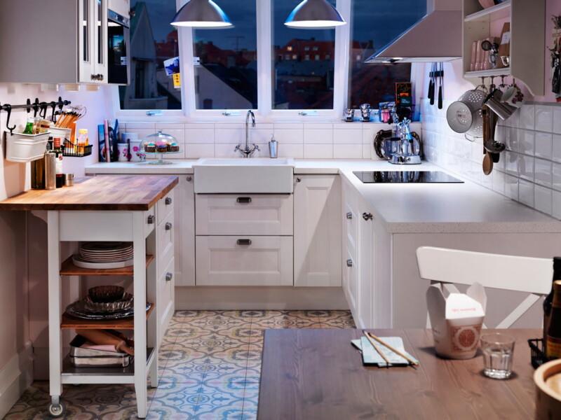 10 идей для маленькой кухни: делаем кухню удобной и практичной