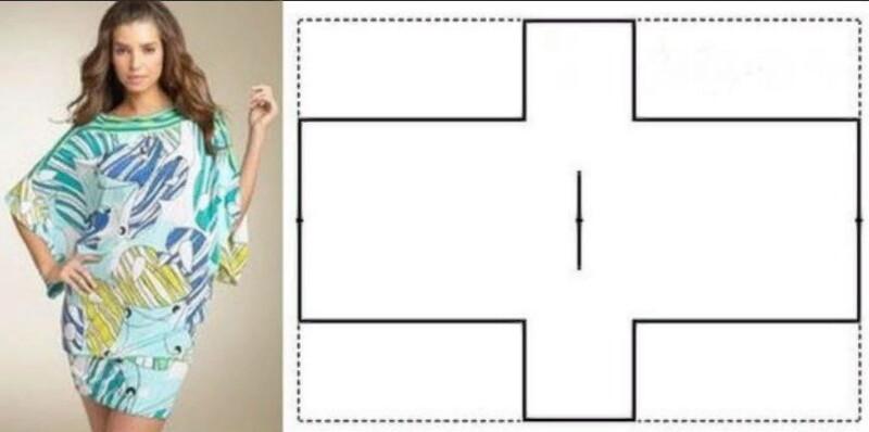 Летние платья, которые можно сшить за 2 часа. Простые выкройки для девушек приятной полноты