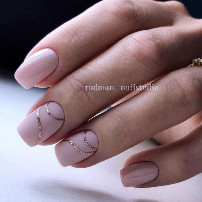 Самые красивые идеи роскошного маникюра в розовых оттенках
