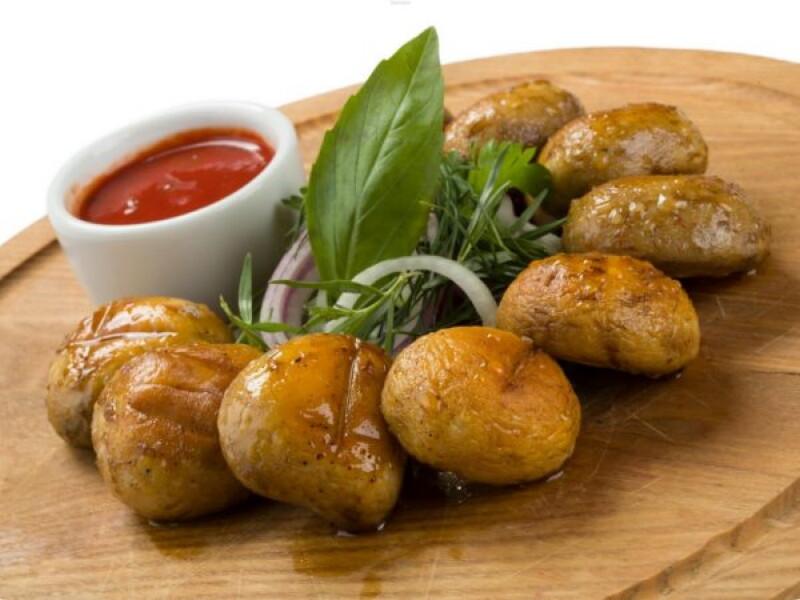 Шашлык из грибов шампиньонов: Восемь лучших рецептов