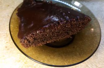 Простой десерт для ленивых поваров – рецепт шоколадного пирога