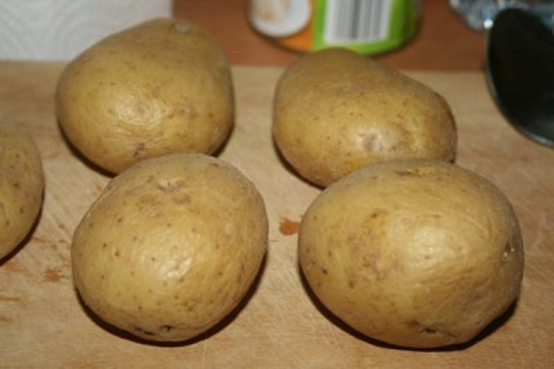 Рецепт запеченного картофеля по-португальски