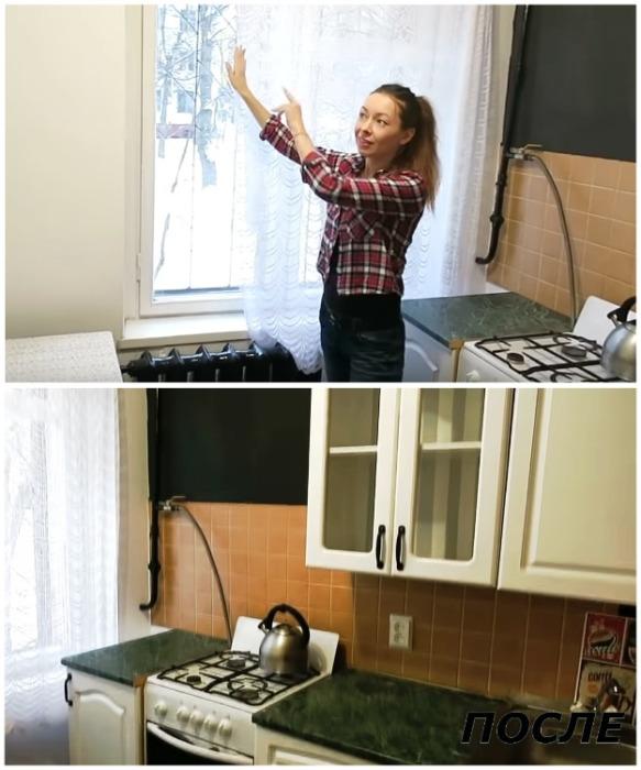 Когда интерьер порядком надоел, или как быстро освежить кухню за 4 тыс. руб.