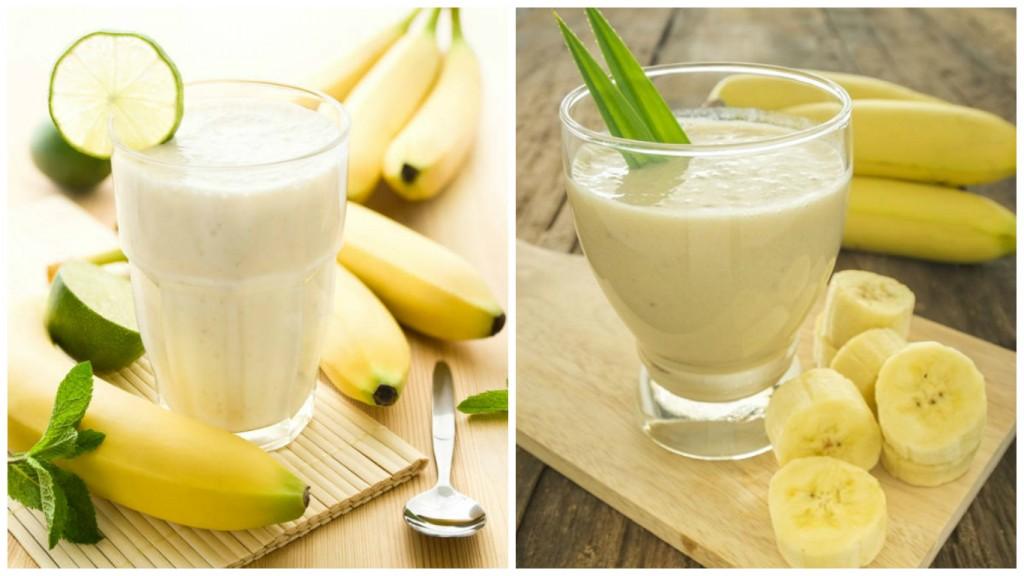 Банановый напиток, который немедленно сжигает жир желудка