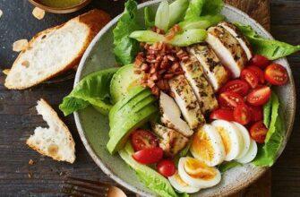 Топ-6 идей легких салатиков с курицей!