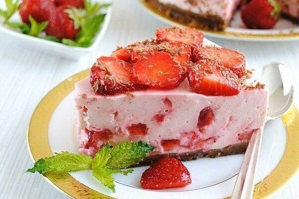 ПП-десерт для худеющих - Йогуртовый творожник без выпечки