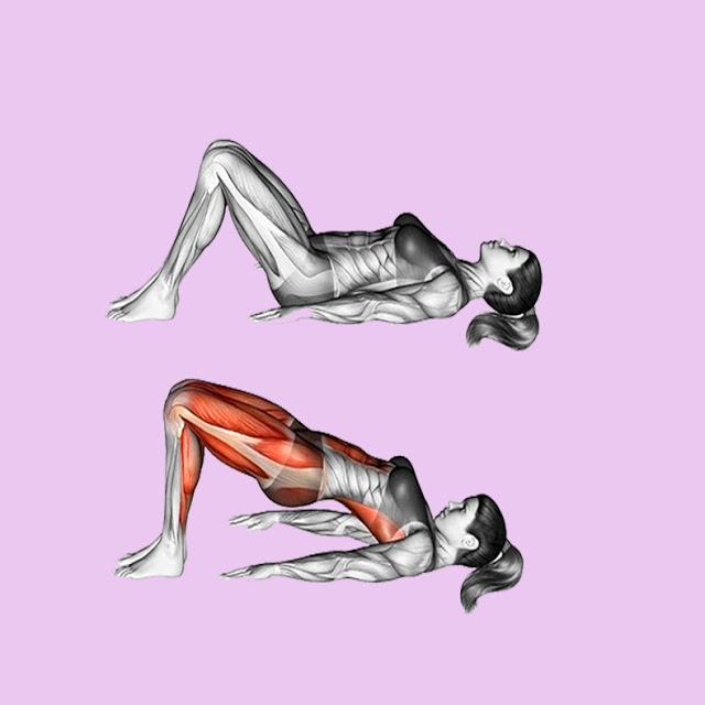 Лучшее упражнение для ягодиц, которые потеряли упругость