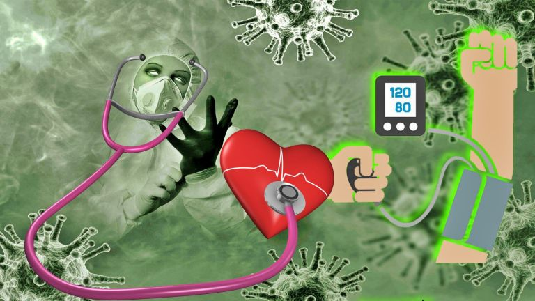 Связь между коронавирусом и высоким давлением. Будьте осторожны!