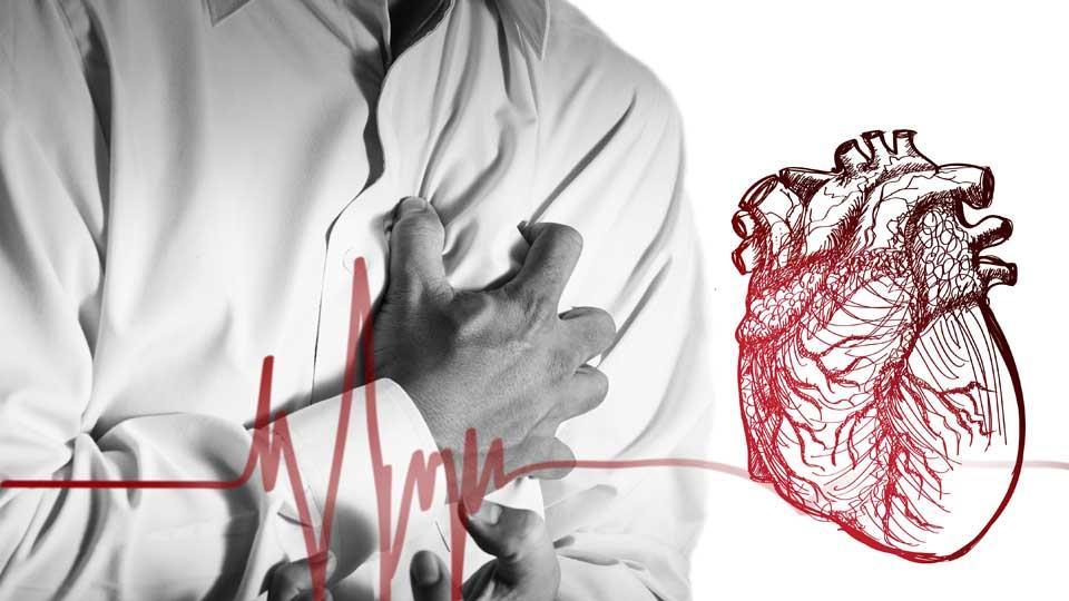 Точки, которые быстро спасают от болей в сердце
