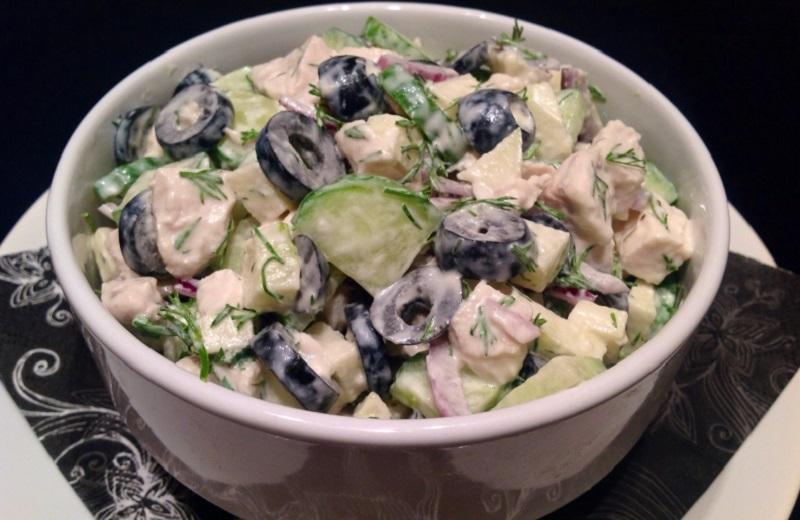 Замена ужина: 9 диетических салатов. Ешьте даже поздно вечером — всё равно не поправитесь
