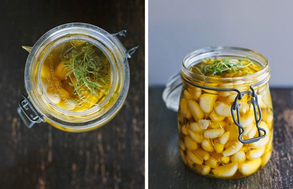 Чесночное масло - натуральное лекарство и самая полезная заправка для салатов