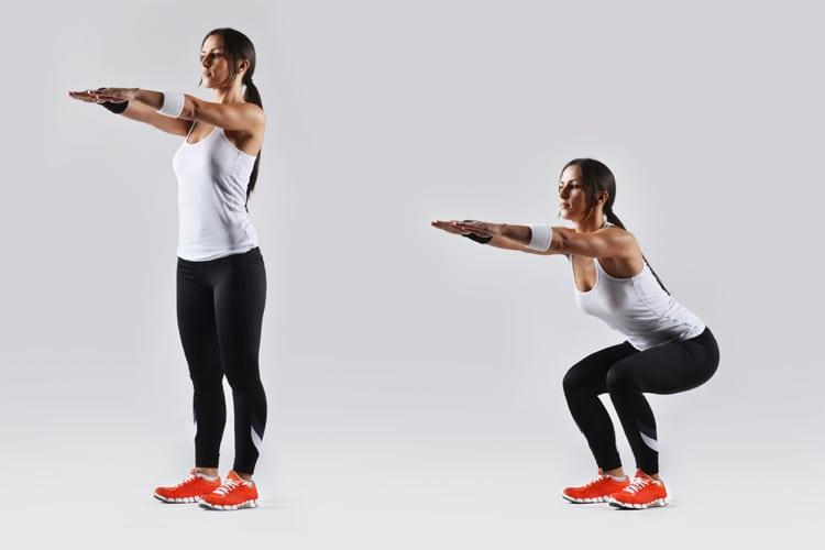 Домашний комплекс из 5 лучших упражнений для ног и ягодиц